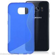 Custodie preformate/Copertine blu per Samsung Galaxy S7