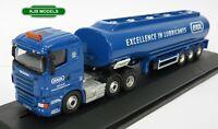 BNIB OO GAUGE OXFORD DIECAST 1:76 76SHL04TK Scania Highline Tanker Exol Lorry