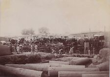 CHINE CHINA Travaux Pei Ho Photo amateur Tirage citrate vers 1900