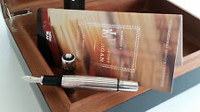 Montblanc  J.P. MORGAN Limited Edition 4810 Füller Carbon 925 Sterling-Silber