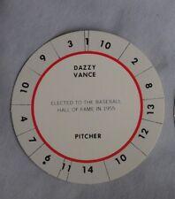 Vintage Cadaco Disc 1960s Dazzy Vance Pirates Dodgers