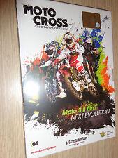 DVD N°5 MOTO CROSS MOTO 3 IL FILM NEXT EVOLUTION VELOCITA' FANGO E GLORIA