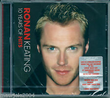 Ronan Keating. 10 Years of Hits (2004) CD NUOVO The way you make me feel B.Adams