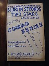 Partition Blues in Seconds Two Stars Gérard Levecque