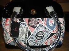 BNWT Fred Perry Amy Winehouse Ace of Amy Bowling Handbag  New Playing Card