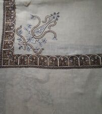 Pashmina cashmere Kashmiri Shawl Embroidery Shemagh scarf Yemeni arab pakistani