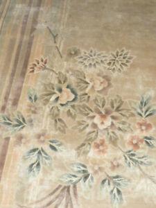 Feiner  Handgeknüpfter China Seidenteppich Reine Seide 232 cm x 168 cm Top