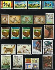 Guyana - Collection of Stamps...........Q81n......... - # 8414