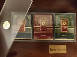 Card College Playing Cards Luxury Acrylic Set - Limited Edition 220/500