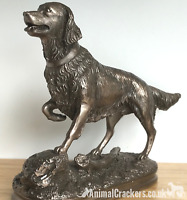 Large Beauchamp Bronze Retriever lover gift sculpture ornament figurine statue