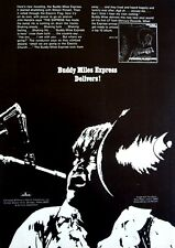 Buddy Miles Express 1968 vintaqge Poster Advert Expressway to your skull