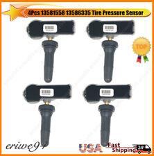 4Pcs Genuine 13581558 13586335 TPMS Tire Pressure Monitoring Sensor For Chevy GM