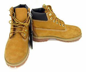 Timberland Shoes 6 Inch Premium Wheat/Brown Boots Size Boys 3 / Girls 5