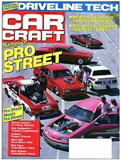 CAR CRAFT November 1988 w/70 Camaro,69 Chevelle,61 to 65 Impala,70,87,88 Mustang