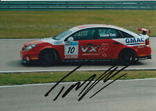 Tom Onslow Cole Hand Signed VX Racing 7x5 Photo.