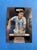 2018 Panini Prizm World Cup Paulo Dybala RC #10 🔥 Argentina Juventus