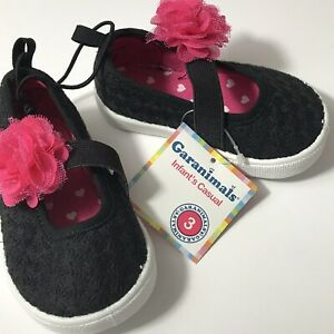 Girls Infant Toddler Shoes  Dress Sizes 3 garanimals