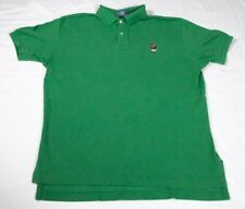 Polo Ralph Lauren Mens Green Polo Bear Polo Shirt Sz L