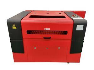9060 CO2 Laser Engraving Cutting Machine Engraver Cutter Rack Servo Motor Ruida