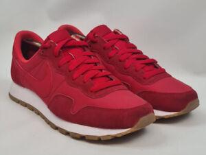 Nike Air Pegasus 89 Suede Trainers 827921-616 Red/White UK10/US11/EU45
