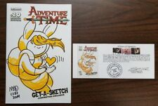 Adventure Time #20 Original Sketch Variant Cover by Mad Rupert w/ Notarized WOS