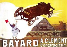 Bayard Car Racing | Vintage Poster | A1, A2, A3