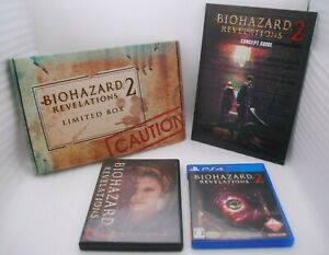 PS4 BIOHAZARD REVELATIONS 2 Limited Box Japan import Resident Evil e-capcom