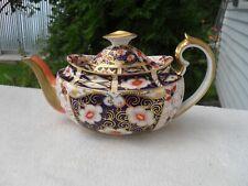 Antique Royal Crown Derby Imari 2451 Teapot Issues