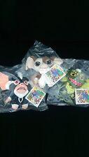 Kidrobot Gremlins PHUNNY Plush Gizmo Stripe Mohawk 3pcs Set Worldwide Free S/H