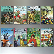 Vintage Classic Ladybird easy read book cover fridge magnets - set of 8