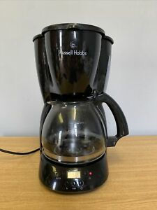 Russell Hobbs filter coffee machine 13406 timer & clock