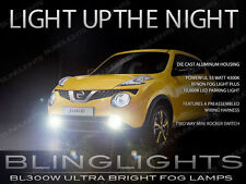 Xenon Halogen Fog Lamps  Driving Lights Kit w/ Harness for 2015 2016 Nissan Juke