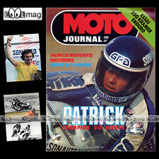 MOTO JOURNAL N°428 KIT YAMAHA XT 500 KRAMER 250 SUZUKI RM 125 MTV YAK 410 1979