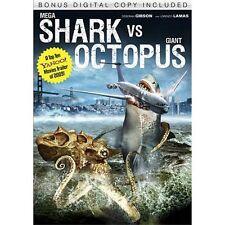 Mega Shark vs. Giant Octopus (DVD, 2010) includes case / cover art!