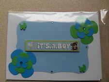its a boy handmade card