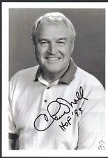 Pittsburgh Steelers CHUCK NOLL HOF 4X SB Winner autograph signed 5x7 photo #2