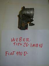 FIAT 500 F CARBURATORE WEBER 26