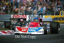 Ronnie Peterson March F1 Dutch GP 1976 Photograph 2