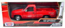 Chevrolet 454 Ss Pickup Red Year 1992 Scale 1:24 from Motormax