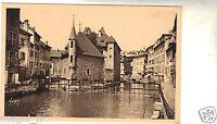 74 - cpa - ANNECY - Le Palais de L'Isle et le canal du Thiou