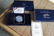 2004 Lewis and Clark Bicentennial Proof Silver Dollar, Original Box + COA