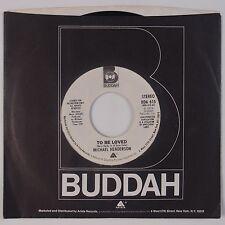 MICHAEL HENDERSON: To Be Loved BUDDAH Modern Soul PROMO NM 45