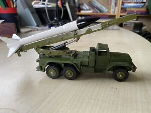 Dinky Toys Supertoys 665 Military Army Honest John Rocket Missile Launcher Truck