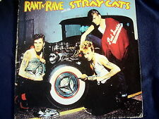 STRAY CATS: RANT N' RAVE with THE STRAY CATS~ROCKABILLY~1983~GERMAN EDITION