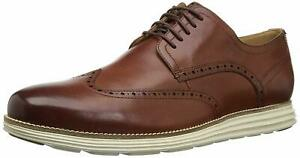 Mens Cole Haan Original Grand Shortwing - Woodbury/Ivory, Size 11 M US [C26471]