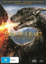 Dragonheart 4 - Battle For The Heartfire : NEW DVD