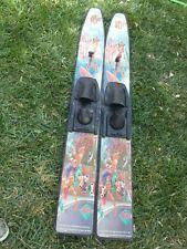 Nash Water Skis Da Hobie Cat  cartoon Vintage  WATERSKIS Water Skis