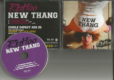 Lmfao REDFOO New Thang 3TRX w/ 2 RARE REMIXES PROMO DJ CD single Red Foo 2015