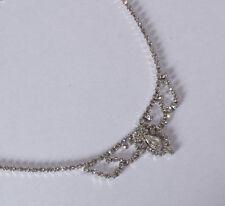 Rhodium beschichtete Modeschmuck-Halsketten für besondere Anlässe
