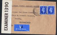 ANGLETERRE OLD LETTER WITH CENSOSHIP DESTINATION GENOVA YEAR 1841